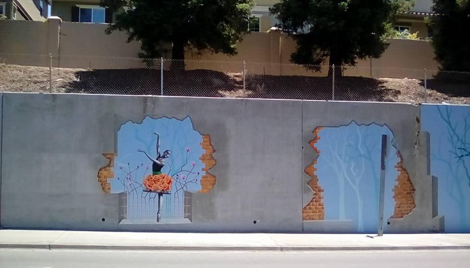 """BREAKING WALLS""- HAYWARD, CA"